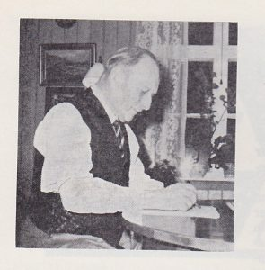 """Denne hsitorien er skrevet av NN, og sto på trykk i Juli på Eidskogen 1972. Publisert i """"Vestmarkaboka"""" november 2016."""