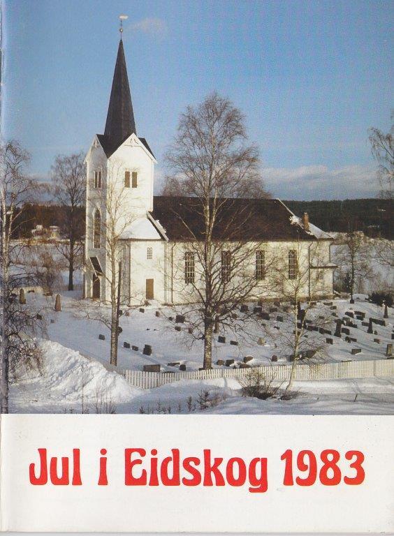 Vestmarka kirke 1983. Foto: Bjørn Olav Andersen.